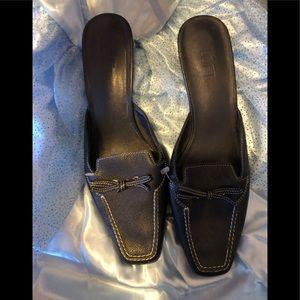 Ann taylor loft leather lk nw sz 8.5 shoes